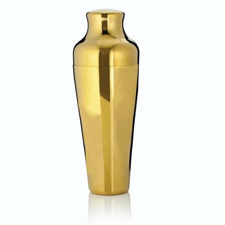 Viski Belmont Gold Cocktail Shaker | James Anthony Collection