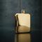 Viski Belmont Gold Plated Flask | James Anthony Collection