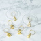 Viski Belmont Gold Plated Wine Charms   James Anthony Collection
