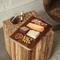 Viski Admiral Acacia Wood Cheese Board | James Anthony Collection