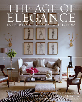 The Age of Elegance: Interiors by Alex Papachristidis (ISBN 9780847838813)