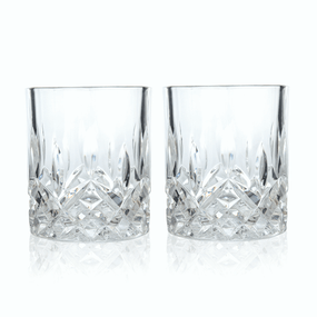 Viski Admiral Crystal Whisky Tumbler Set | James Anthony Collection