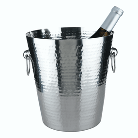 Viski Admiral Hammered Ice Bucket | James Anthony Collection
