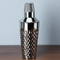Viski Admiral Stainless Steel Faceted Cocktail Shaker | James Anthony Collection