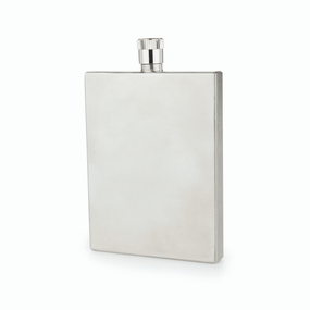 Viski Admiral Slim Stainless Steel Flask | James Anthony Collection