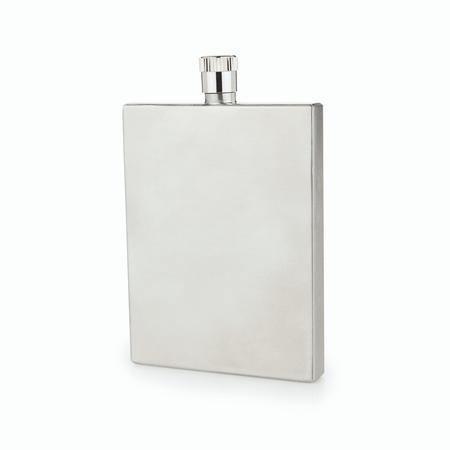 Viski Admiral Slim Stainless Steel Flask | James Anthony Collection