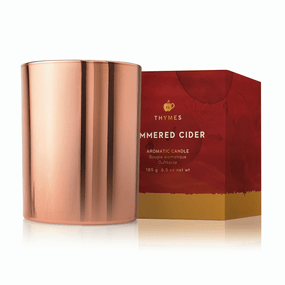 Thymes Simmered Cider Poured Candle | James Anthony Collection