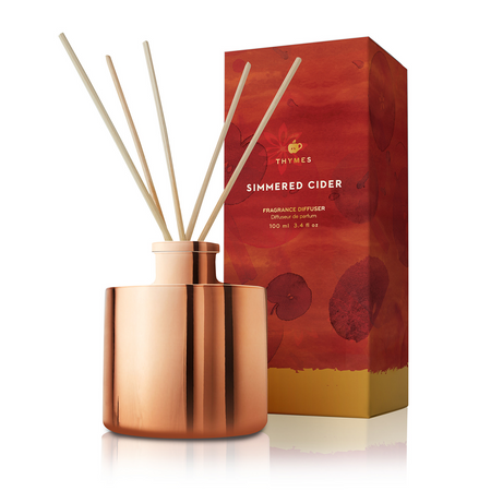 Thymes Simmered Cider Petite Reed Diffuser (tyms-0539940200) | James Anthony Collection