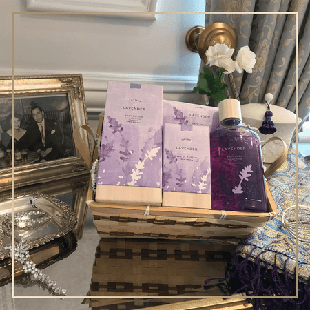 Thymes Lavender Bath & Body Gift Set | James Anthony Collection
