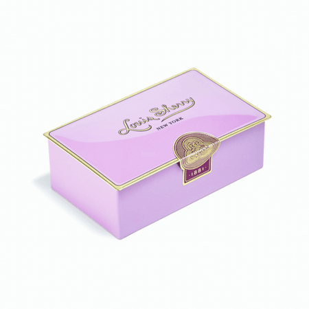 Louis Sherry Chocolates 2-Piece Amethyst Tin | James Anthony Collection