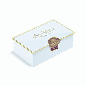 Louis Sherry Chocolates 2-Piece Magnolia Tin | James Anthony Collection