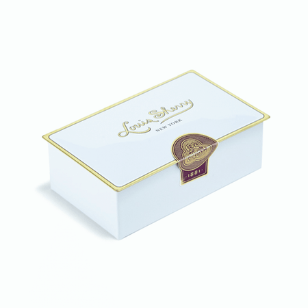 Louis Sherry Chocolates 2-Piece Magnolia Tin | James Anthony Collection