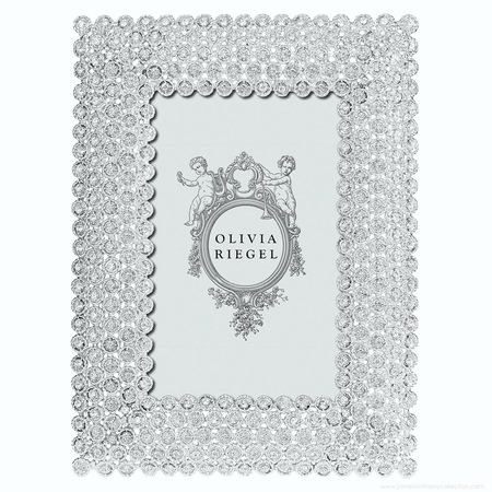 """Olivia Riegel Silver Alexis 4"""" x 6"""" Frame 