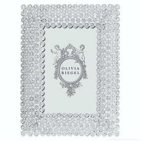 "Olivia Riegel Silver Alexis 4"" x 6"" Frame 