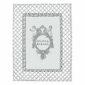 "Olivia Riegel Silver Tristan 4"" x 6"" Frame 