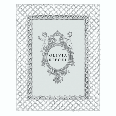 "Olivia Riegel Silver Tristan 5"" x 7"" 