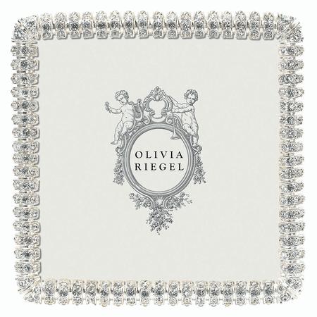 "Olivia Riegel Crystal Chelsea 4"" x 4"" Frame"