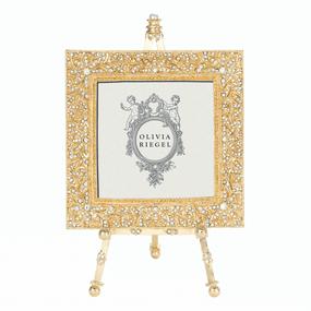 "Gold Windsor 4"" X 4"" Frame On Easel | James Anthony Collection"