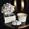 SEDA France Bleu et Blanc Delphinium Two-Wick Ceramic Candle   James Anthony Collection