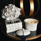 SEDA France Bleu et Blanc White Coral Two-Wick Ceramic Candle | James Anthony Collection