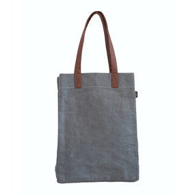 Maika Waxed Ash Market Tote | James Anthony Collection