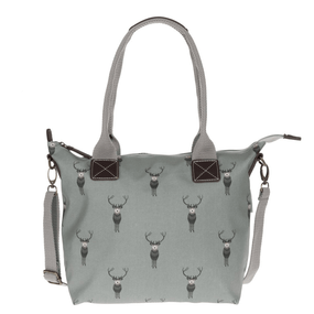 Sophie Allport Highland Stag Oilcloth Mini Oundle Bag