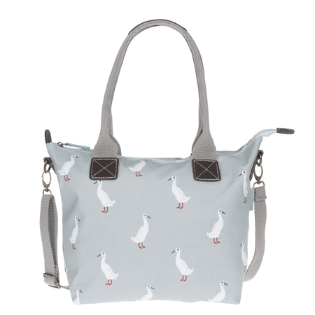 Sophie Allport Runner Duck Oilcloth Mini Oundle Bag | James Anthony Collection
