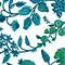 Brai Pochette Porto - Imprimé Fleur Majestic - Green   James Anthony Collection