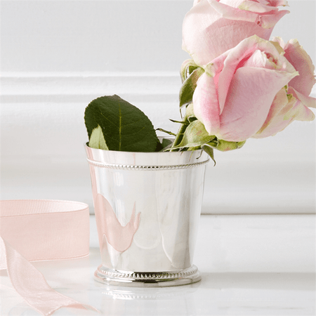 McKenzie Mint Julep Cup Vase - Small | James Anthony Collection