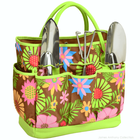 Picnic At Ascot Garden Tote & Tools Set - Floral | James Anthony Collection