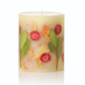 Rosy Rings Round Botanical Candle – Peony & Pomelo | James Anthony Collection