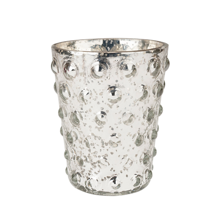 Sophie Allport Embellished Antiqued Silver Tea Light Holder | James Anthony Collection