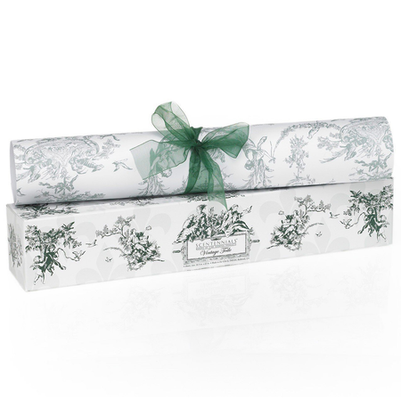 Scentennial Vintage Toile Dark Green Scented Drawer Liners - vt02 | James Anthony Collection
