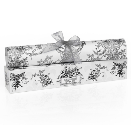 Scentennial Vintage Toile Blue/Gray Scented Drawer Liners - VT01 | James Anthony Collection