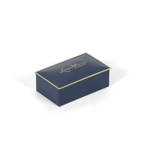 Louis Sherry 2-Piece Ming Blue Tin | James Anthony Collection