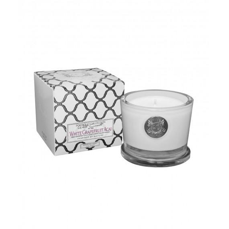 Aquiesse White Grapefruit Acai Small Candle - 50304 | James Anthony Collection