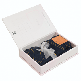 Elegant Baby My First Jeans For Girls Gift Box | James Antony Collection
