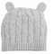 Elegant Baby Cable Knit Hat - Gray | James Anthony Collection