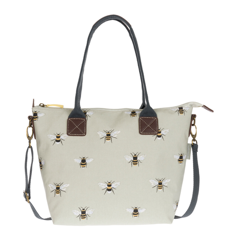 Sophie Allport Bees Oilcloth Mini Oundle Bag | James Anthony Collection