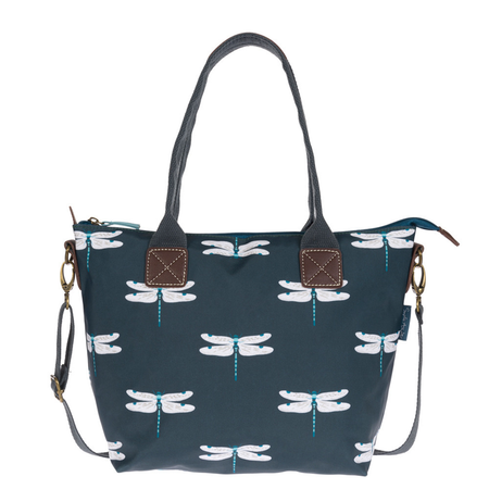 Sophie Allport Dragonfly Oilcloth Mini Oundle Bag | James Anthony Collection