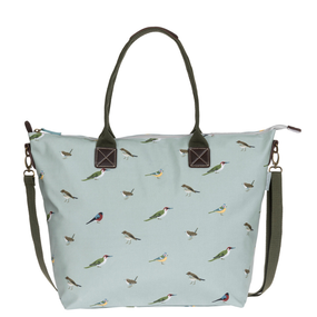 Sophie Allport Garden Birds Oilcloth Oundle Bag | James Anthony Collection