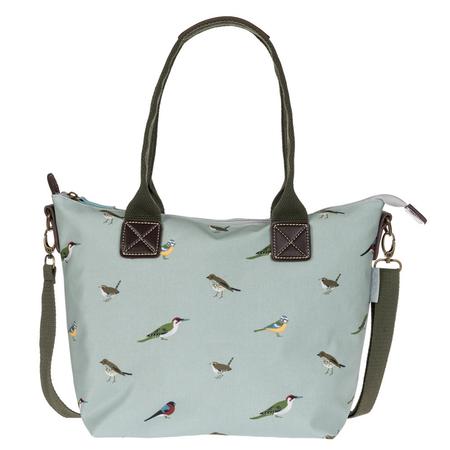 Sophie Allport Garden Birds Oilcloth Mini Oundle Bag | James Anthony Collection