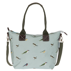 Sophie Allport Garden Birds Oilcloth Mini Oundle Bag | James Anthony Collection