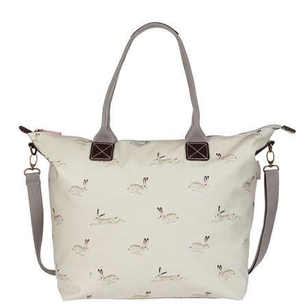 Sophie Allport Hare Oilcloth Oundle Bag   James Anthony Collection