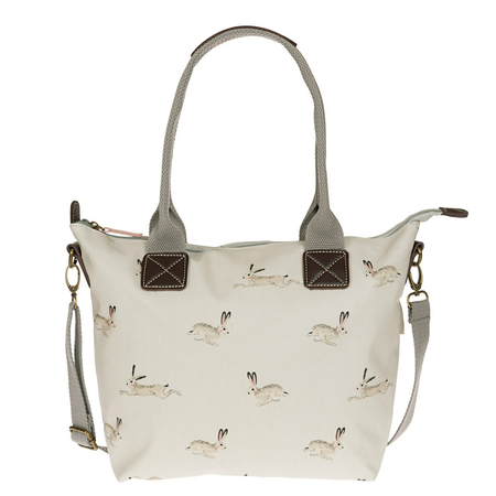 Sophie Allport Hare Oilcloth Mini Oundle Bag | James Anthony Collection