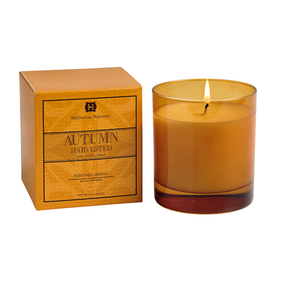 Hillhouse Naturals Autumn Harvested Glass Candle | James Anthony Collection