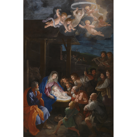 The Adoration of the Shepherds Christmas Card | James Anthony Collection