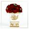 SEDA France Fleurs de St. Germain Classic Toile Petite Ceramic Candle (sf-00130fsg) | James Anthony Collection