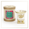 SEDA France Holiday Classic Toile Petite Ceramic Candle (sf-00130hol)   James Anthony Collection