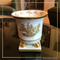 SEDA France Classic Toile Petite Ceramic Candle   James Anthony Collection